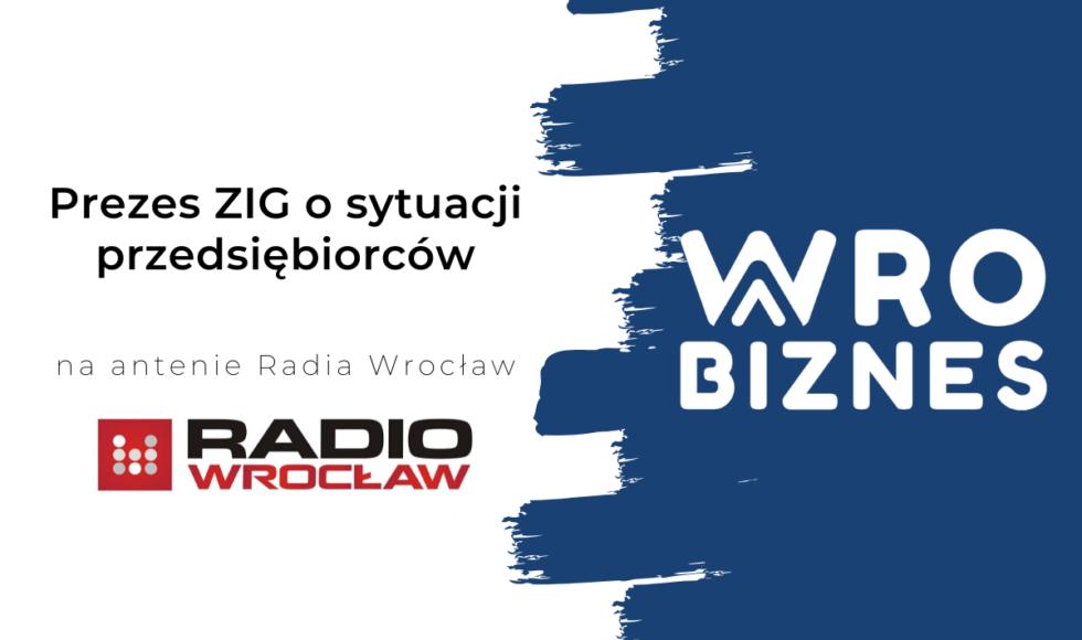 Prezes ZIG w Radiu Wrocław - 17.03.2020