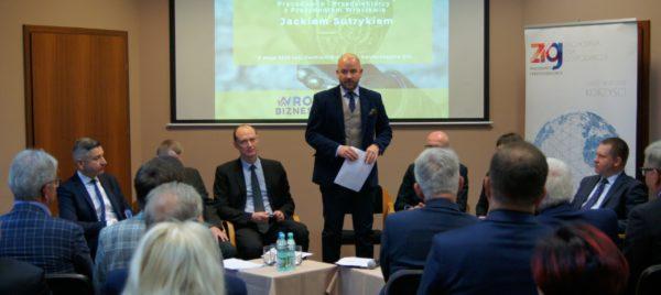 Spotkanie z Prezydentem Wrocłwia w ZIG
