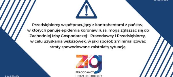 #ZIGpomaga - koronawirus
