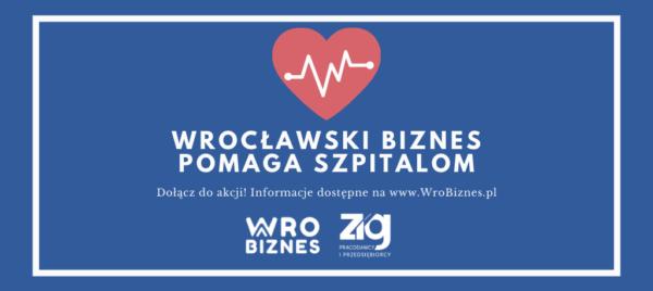 Wrocławski biznes pomaga szpitalom
