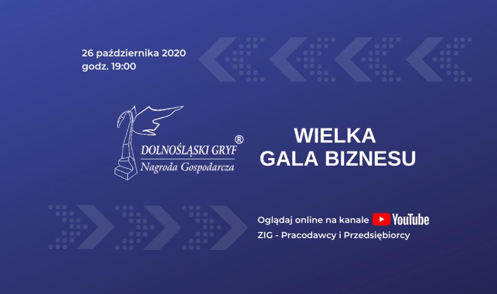 Wielka Gala Biznesu Online 2020